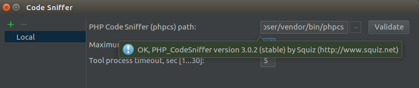 Code Sniffer 2